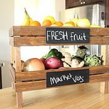 Need a little bit of extra counter space? These crates are just perfec… :: Hometalk