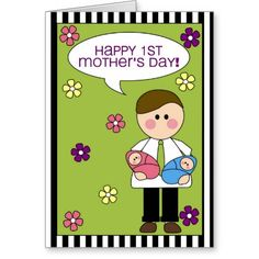 happy 1st mother's day (twins)
