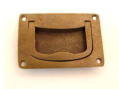 Greep infrees brons antiek, roest of tinkleur 75mm. [7BO1097] - 7.40EUR : antiekbeslag.be, Online winkel voor uw antiek