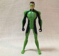 "Mattel 4"" GREEN LANTERN Hal Jordan Action Figure DC Comics  0751TNl #Mattel"
