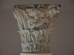 https://flic.kr/p/qPpLpz | The Jupiter Column's Corinthian capital, Ambrosia playing a drum, Corinium Museum, Cirencester