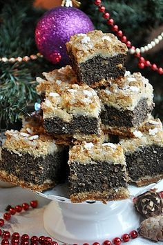 Sweet Recipes, Cake Recipes, Polish Christmas, Polish Recipes, Food Cakes, Delish, Cheesecake, Good Food, Food And Drink
