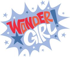 Wonder Girl logo by Tim Goldman