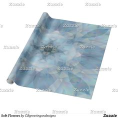 Soft Flowers Wrapping Paper