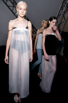 The man who's making a name for himself with clean cuts and sleek shapes, Lucas Nascimento. #LucasNascimento. #ss14 #lfw #topshopsupports
