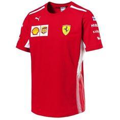 8198946c4bb43 Scuderia Ferrari Formula 1 Men s Red 2018 Kimi Raikkonen Team T-Shirt - CMC  Motorsports®