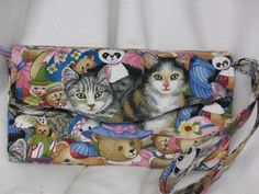 Kitten's Sitting With A Group Of Teddy Bears  NCW by JosieeDesigns