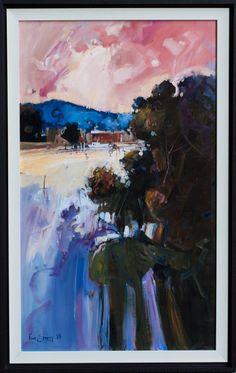 Ken Strong 'Residue of Evening' Oil 80cm x 50cm #14616