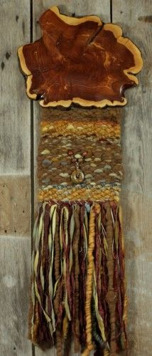 Wall Hanging - Sunrise Sunset - Hand Woven by Karen Rester    Another piece that would fit right in my gallery!