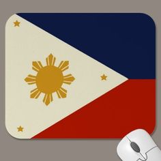 Flag of the Philippines mouse-mats by ccrcats.