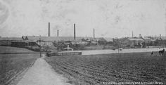 PH/17/7/5 Black and white photograph showing Ravenhead Plate Glassworks, St.Helens 1899. , . , . , . ,., PH - Photographic collections 17 - Photographic collections that were created by individual depositors 7 - Black and white photographs showing factories, churches and schools in St.Helens