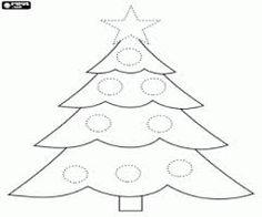 Risultati immagini per albero di natale disegno