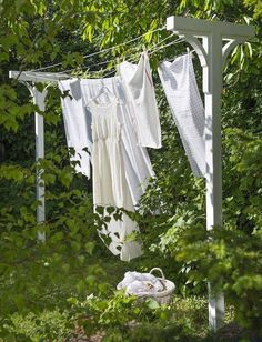 Laundry line.  I want this