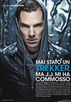 Benedict oh my! | Benedict Cumberbatch - Best Movie Magazine March 2013 | @ cumberbatched-italia.tumblr.com