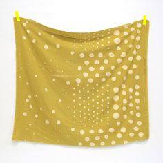 Shop | Category: Basics, Dots, Stripes & More | Product: Nani Iro 2013 - Woodblock Pocho Thick Gauze - Garland