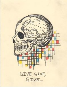 Wes Lang, 'Untitled (Give give give),' 2015, V1 Gallery