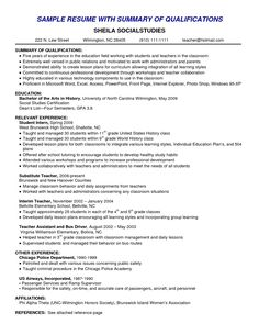 resume skills summary examples example of skills summary for resume amusing summary of skills