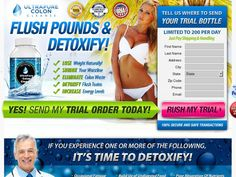 detox cleanse landing page - Google Search