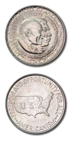 United States - Washington - Carver Commemorative - Half Dollar - 1952P - Brilliant Uncirculated | Black Mountain Coin | Black Mountain, NC