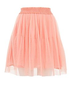 Coral (Orange) Tokyo Doll Coral Tulle Skirt | 278821283 | New Look