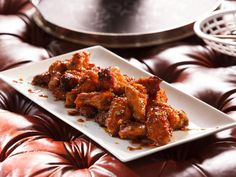 Get Honey-Ginger Chicken Wings Recipe from Cooking Channel