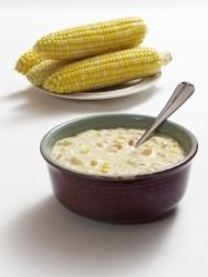 Easy Corn Chowder with Campbell's Soup Easy Corn Chowder, Slow Cooker Corn Chowder, Chicken Corn Chowder, Crock Pot Soup, Crock Pot Cooking, Campbells Soup Recipes, Bean Pot, Baked Beans, Slow Cooker Recipes