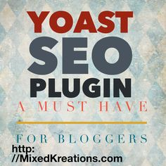 The Yoast SEO plugin is a plugin that I think every blogger could benefit from, especially new bloggers. WP Yoast SEO plugin takes care of the technical...