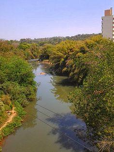 Atravessando novamente o Rio Atibaia.