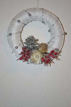 A Christmas wreath
