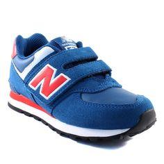 210A NEW BALANCE KG574 MARINE www.ouistiti.shoes le spécialiste internet de  la chaussure