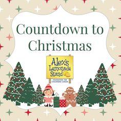 Countdown to Christmas - Alex's Lemonade Stand #Advent