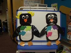 Mrs Jump's class: Penguins Unit... like share the fish with the penguin