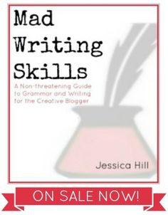 ****A Non-threatening Guide to Grammar and Writing for the Creative Blogger by Mad In Crafts $5 - This e-book sounds really good - Come back and get this when I have time