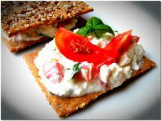 Paradicsomos túrókrém Sandwiches, Food, Essen, Paninis, Yemek, Eten, Meals