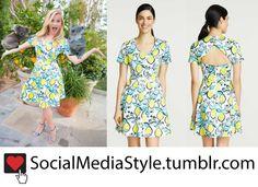 Buy Reese Witherspoon's Draper James Lemon Print Dress, here!