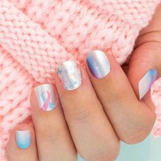 Show your support for pregnancy and infant loss awareness with Never Forgotten, a sweet pink and blue butterfly and watercolor design! The Color Street Foundation is pledging $100,000 to organizations that fund awareness and direct support programs for families affected by pregnancy and infant loss. #infantlossawareness #colorstreetfoundation #naildesign