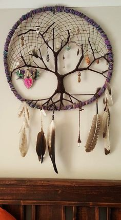 Diy jewelry tree dream catchers 65 Ideas for 2019 Dream Catcher Craft, Large Dream Catcher, Dream Catcher Boho, Dream Catcher Mobile, Dream Catcher Patterns, Diy Tumblr, Beautiful Dream Catchers, Diy Jewelry Inspiration, Trendy Tree