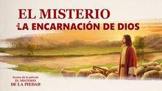 """""""El misterio de la piedad"""" Escena 3 - El misterio de la encarnación de Dios (Español Latino) #Jesús #Evangelio #Cordero #LosÚltimosDías #CreerEnDios #ElRegresoDeJesús #Buscar #Religioso #LaProfecíaBíblica La Encarnacion, Faith In God, Madrid, Mystery, Videos, Movies, Movie Posters, Jesus Cristo, Terra"""