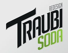 Traubisoda design, Drink logo design Drinks Logo, Photoshop Illustrator, Logo Design, Letters, Illustration, Letter, Illustrations, Lettering, Calligraphy