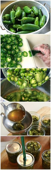 Candied Jalapeños (Cowboy Candy) made four pints like this and two w/ crushed pineapple.