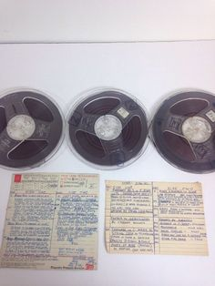 Vintage Scotch Reel to Reel Audio Tape Lot Magnetic Recorded Music Made in USA