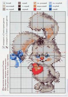 lo spazio di lilla: Gli schemi punto croce per il bimbo in arrivo