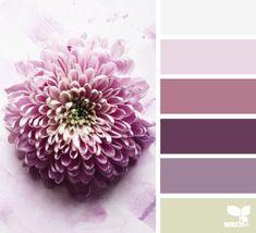 flora tones - voor meer #kleur #inspiratie kijk ook eens op http://www.wonenonline.nl/interieur-inrichten/kleuren-trends/