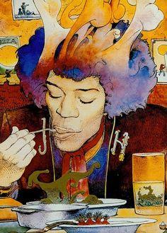 Jimmy Hendrix, Moebius