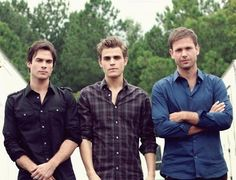 Damon, Stefan and Alaric