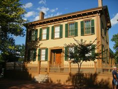 Lincoln Home National Historic Site, Springfield, Illinois ~~