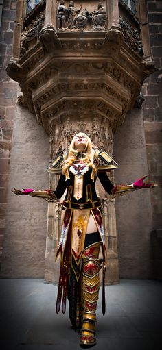 Holy light, give me strength! - World of Warcraft cosplay by KamuiCosplay on deviantART