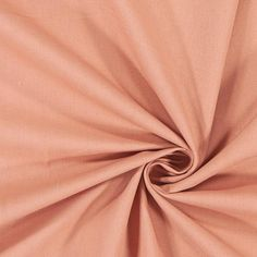 Len z domieszką bawełny – łosoś - Tkaniny lniane- tkaniny.net