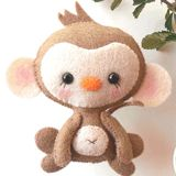 Little Things to Share - Baby Monkey Felt Pattern