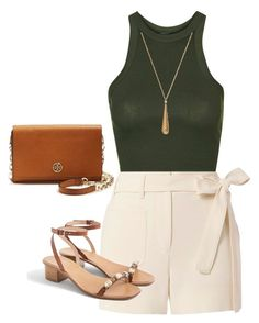 """Shopping Day"" by kmags4 on Polyvore featuring Topshop, Helmut Lang, J.Crew, Gucci and Tory Burch"